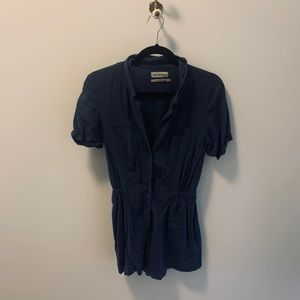 Urban Outfitters XS blue romper